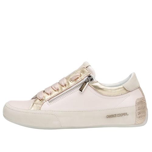 R.DELUXE ZIP Leather sneaker with zip Pink 2015824071B85-30