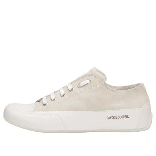 ROCK Suede and leather sneaker White 2015826041N14-30