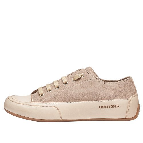 ROCK Suede and leather sneaker Beige 2015826050D09-30