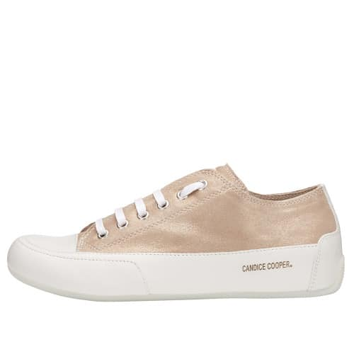 ROCK Glittered leather and nappa sneaker Pink 2015826251N30-30