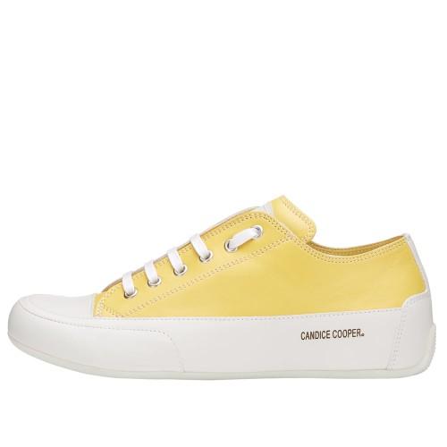 ROCK Leather sneaker Yellow 2015826301N46-30