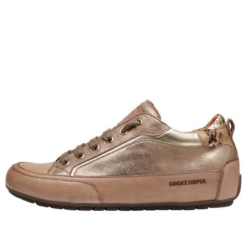KENDO Nappa and laminated leather sneakers Silver 2016077019101-30