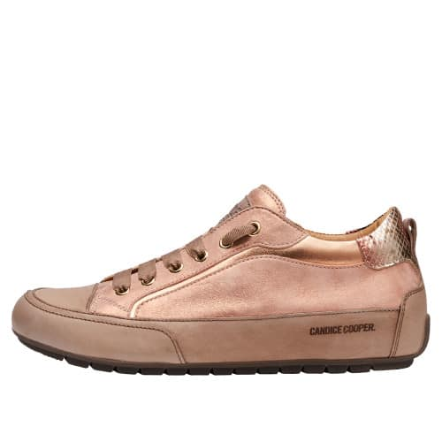 KENDO Nappa and laminated leather sneakers Pink 2016077019105-30