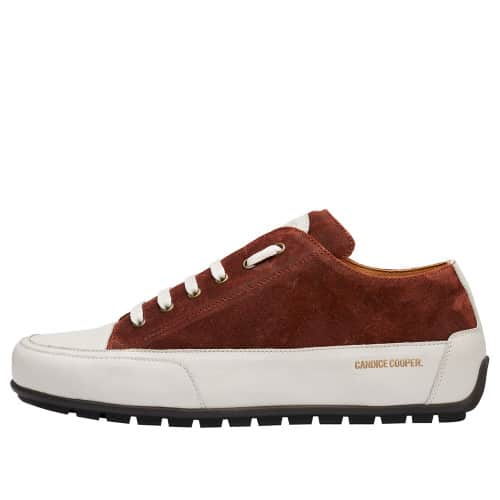 SANBORN Suede leather sneakers Tobacco brown 2016095039121-30