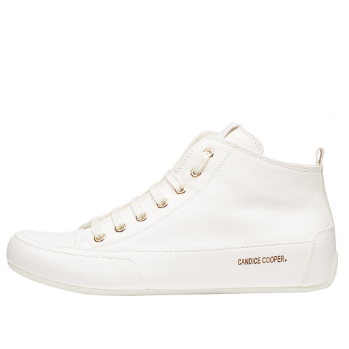 MID Leather ankle sneaker White 2501923050E02-30