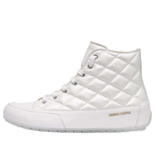 PLUS BORD Quilted nappa leather sneakers White 2501939049131-30