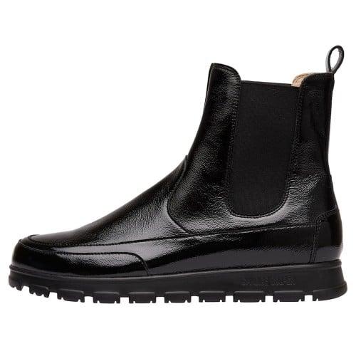NINJA BEATLES Naplak leather ankle boots Black 2501940079161-30