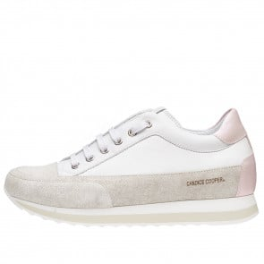 ROCK SPORT Suede and leather sneaker White-Pink 2015811051E05-20