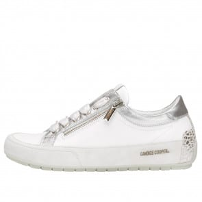 R.DELUXE ZIP Leather sneaker with zip White 2015824081N02-20