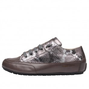 ROCK Printed leather sneakers Python print 2016054069152-20