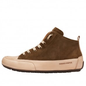 MID Suede and nappa leather sneakers Beige/Khaki 2016066019102-20