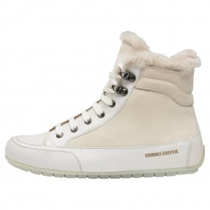 VANCOUVER Nappa and nubuck leather sneakers Cream-coloured 2501937059141-20
