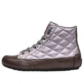 PLUS BORD Quilted nappa leather sneakers Silver 2501939029112-20
