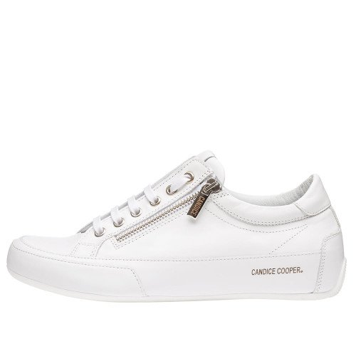 R.DELUXE ZIP Leather sneaker with zip White 2015824010N01-30