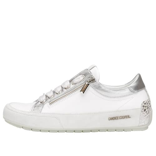 R.DELUXE ZIP Leather sneaker with zip White 2015824081N02-30