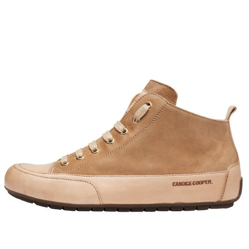 MID Suede and nappa leather sneakers Sand-yellow 2016066019101-30