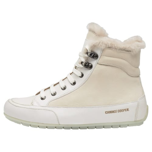 VANCOUVER Nappa and nubuck leather sneakers Cream-coloured 2501937059141-30