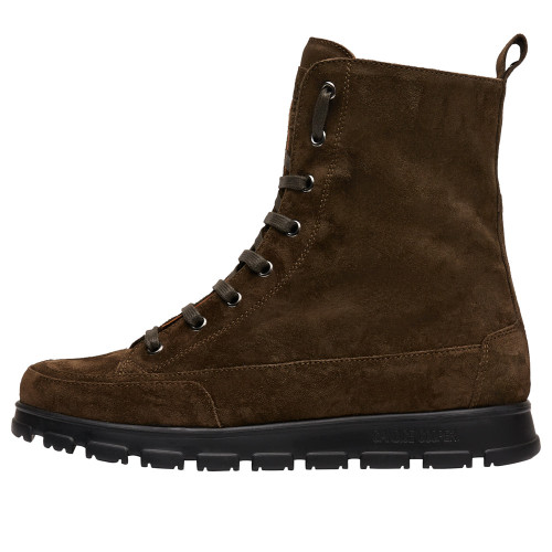 NINJA COMMANDO Suede leather ankle boots Brown 2501942049133-30