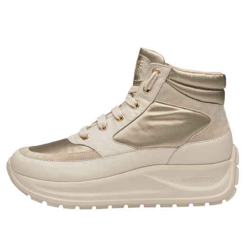 SPARK X Suede leather and nylon sneakers Cream-coloured 2501949069151-30