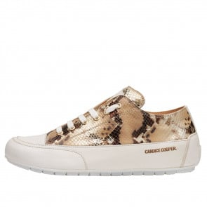 ROCK Printed leather sneakers Python print 2016054069151-20