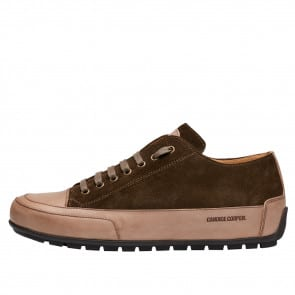 SANBORN Suede leather sneakers Brown 2016095019102-20