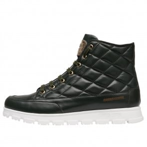 NINJA VITAMINIC Quilted nappa leather sneakers Dark Olive 2502016019103-20
