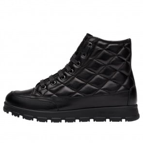 NINJA VITAMINIC Quilted nappa leather sneakers Black 2502016019104-20