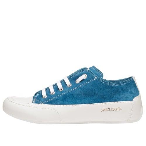 ROCK Sneaker aus Velours und Glattleder Blau 2015826041N59-30
