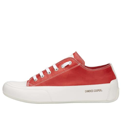 ROCK Sneaker aus Leder Rot 2015826301N26-30