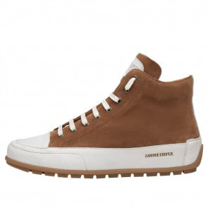 PLUS UOMO Suede leather sneakers Tobacco brown 2501954029111-20